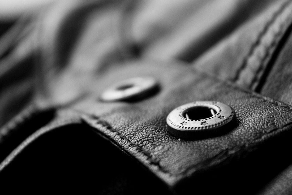 Button Jacket Garment Leather