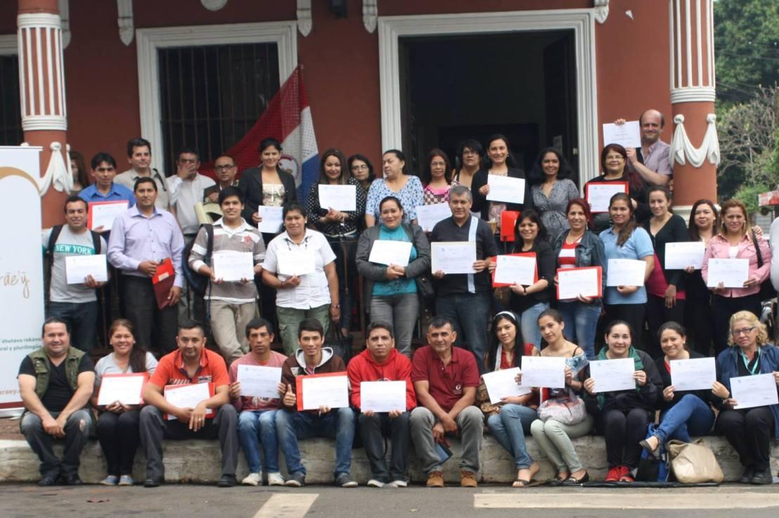 Tecnicatura en traducción de guaraní en la Fundación YvyMarãe'ỹ