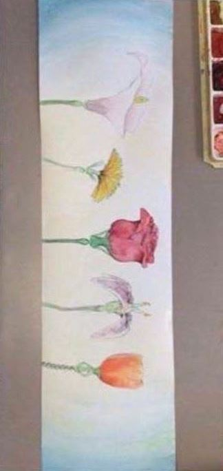 Flores danzantes