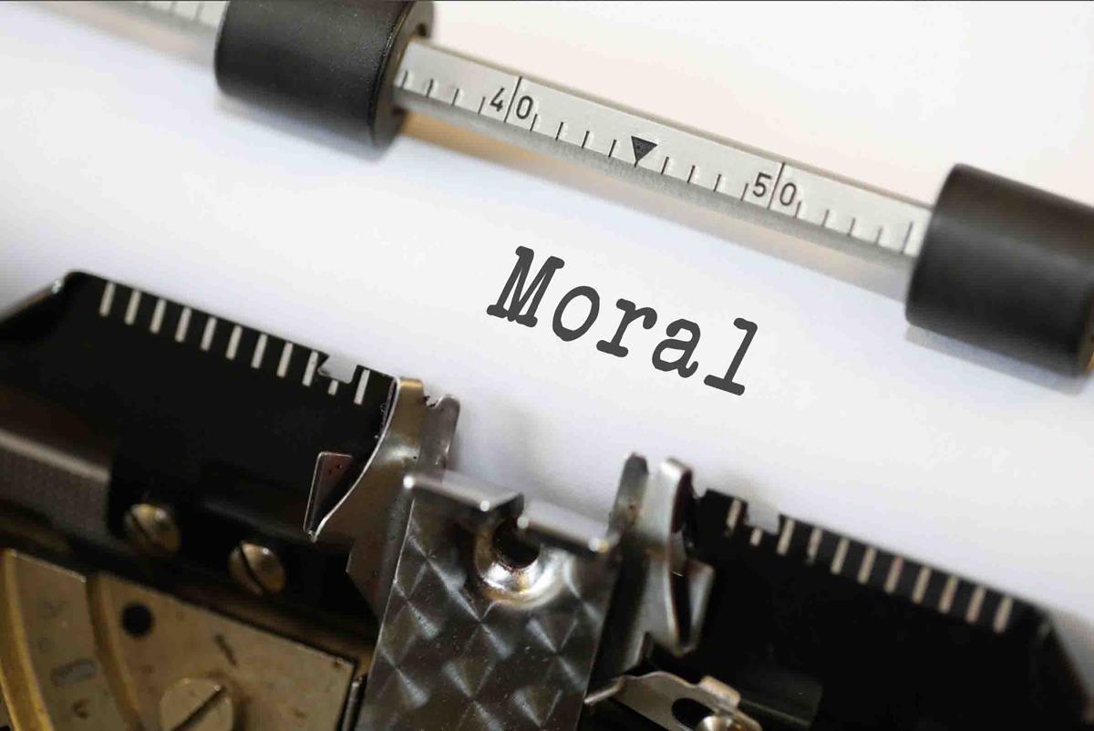 Moral typewriter