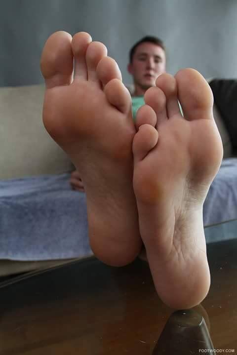 guy feet soles